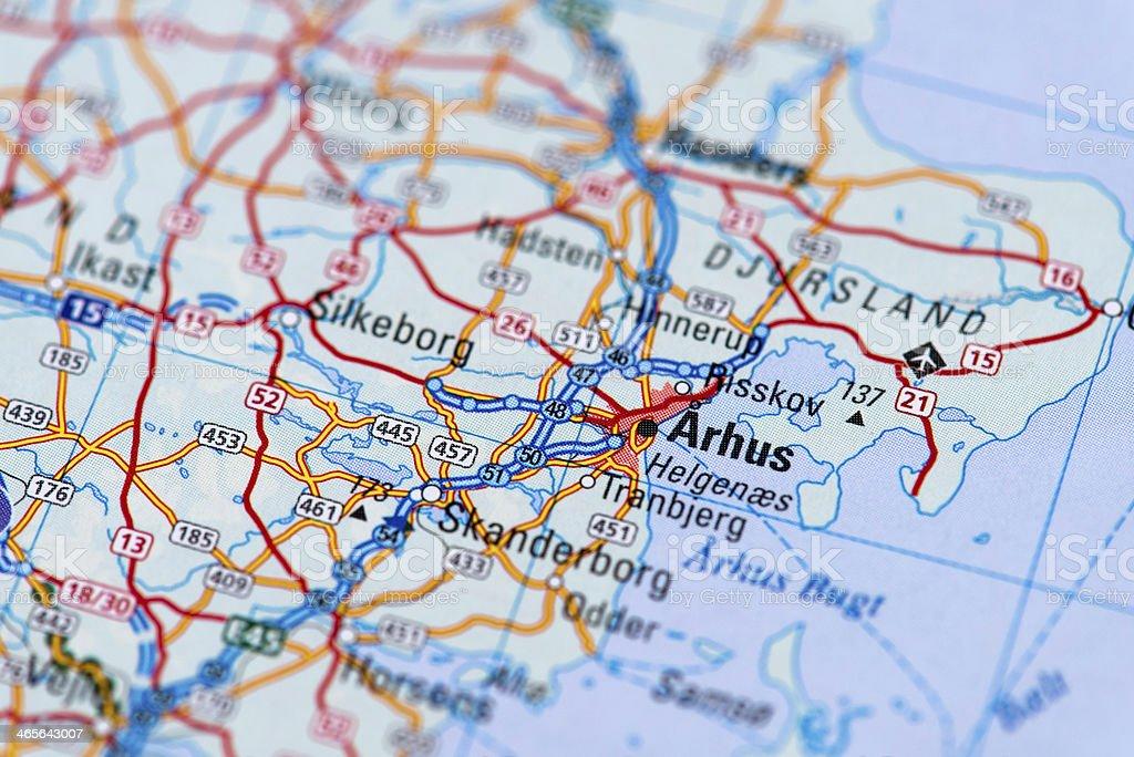 Arhus stock photo