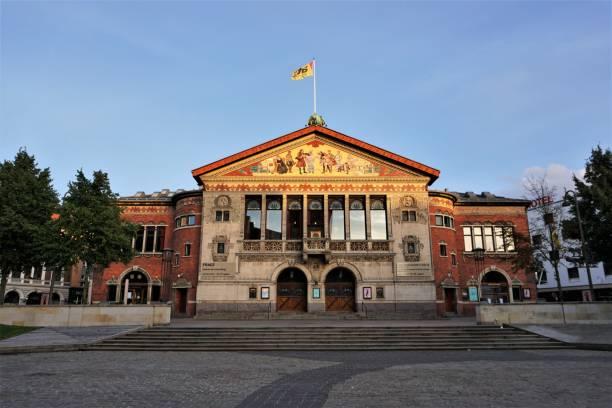 Arhus Theater stock photo