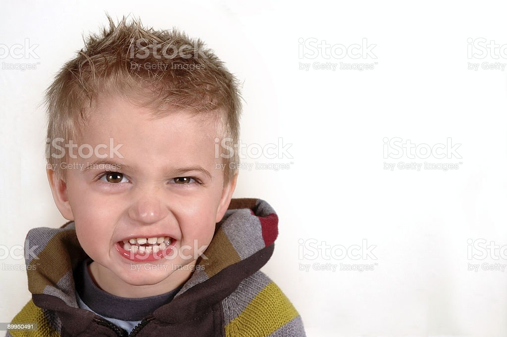 Ari smiling royalty-free stock photo