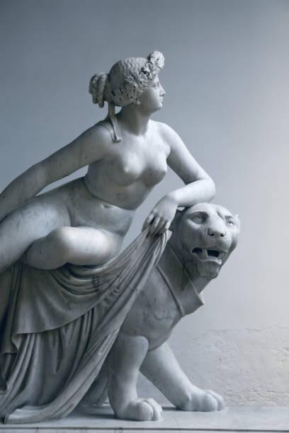 Ariadne on the Panther, after Johann Heinrich von Dannecker stock photo