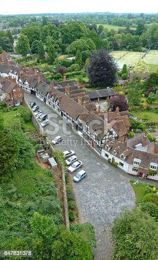 istock Arial view of Warwick Neighborhood 647831078