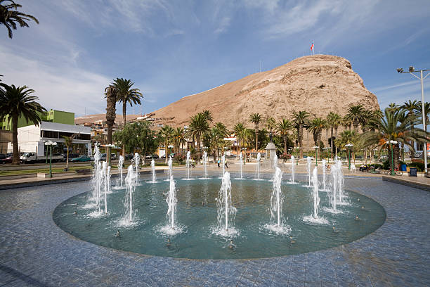 Arica in Northern Chile stock photo