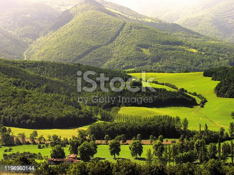 istock Ariege. Mountain and rural scenery, Pyrenees France. 1196960144