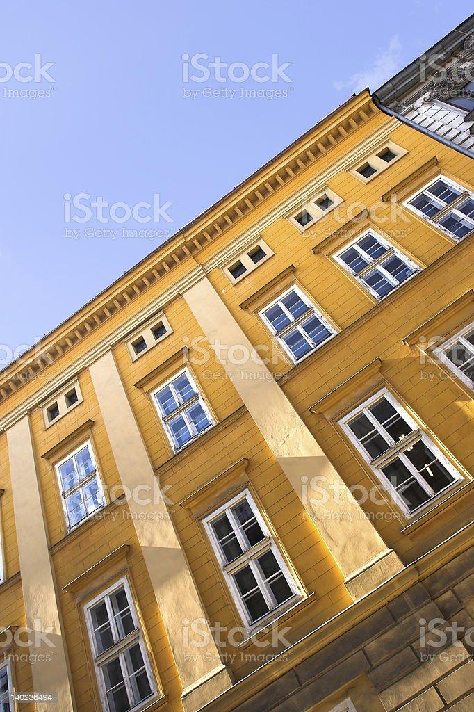 Aristocratic building in Krakow royalty-free stock photo