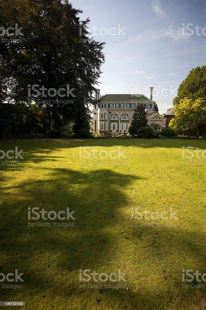 Aristocratic country house in England royalty-free stock photo