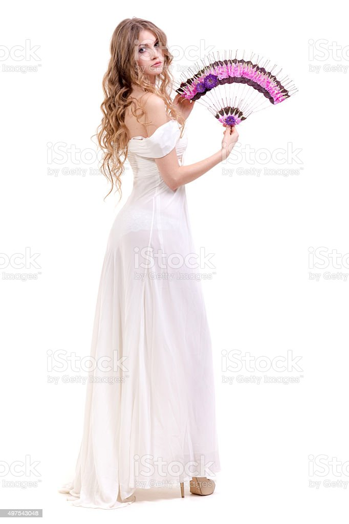 Aristocratical Belle stock photo
