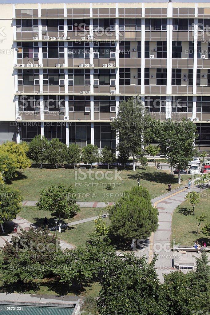 Aristotle University Of Thessaloniki royalty-free stock photo