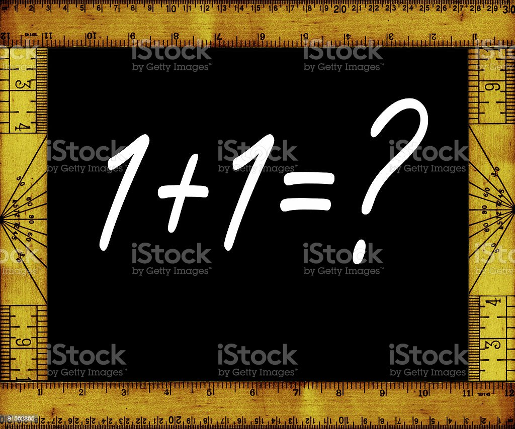 Arithmetic royalty-free stock photo