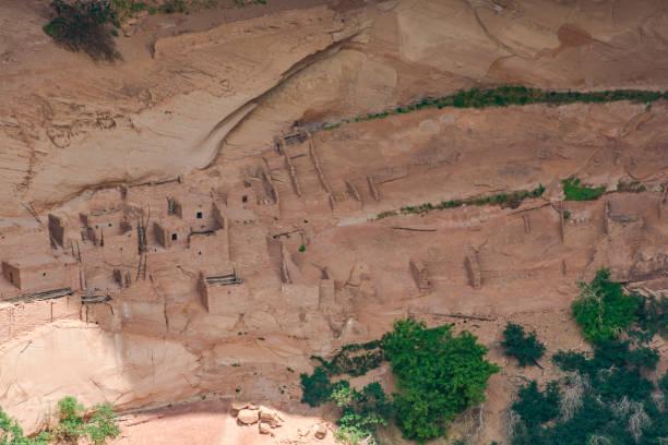 arizona, anasazi ruins, canyon de chelly national monument - hopi stock photos and pictures