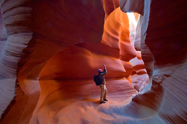 Arizona Antelope Canyon stock photo