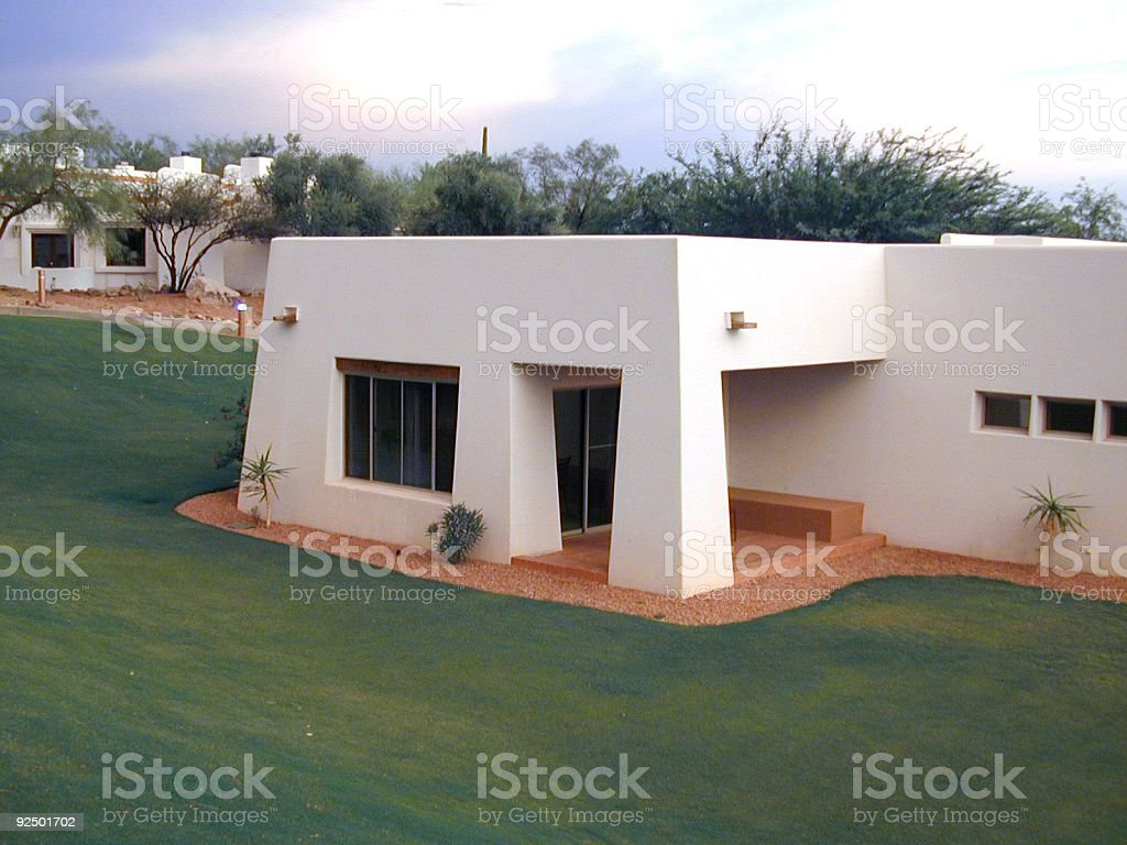 Arizona Casita bei Sonnenuntergang Lizenzfreies stock-foto
