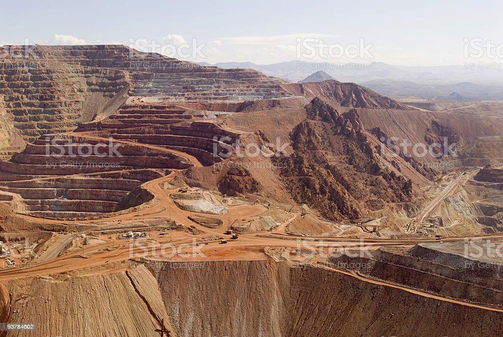 Arizona Coppermine stock photo