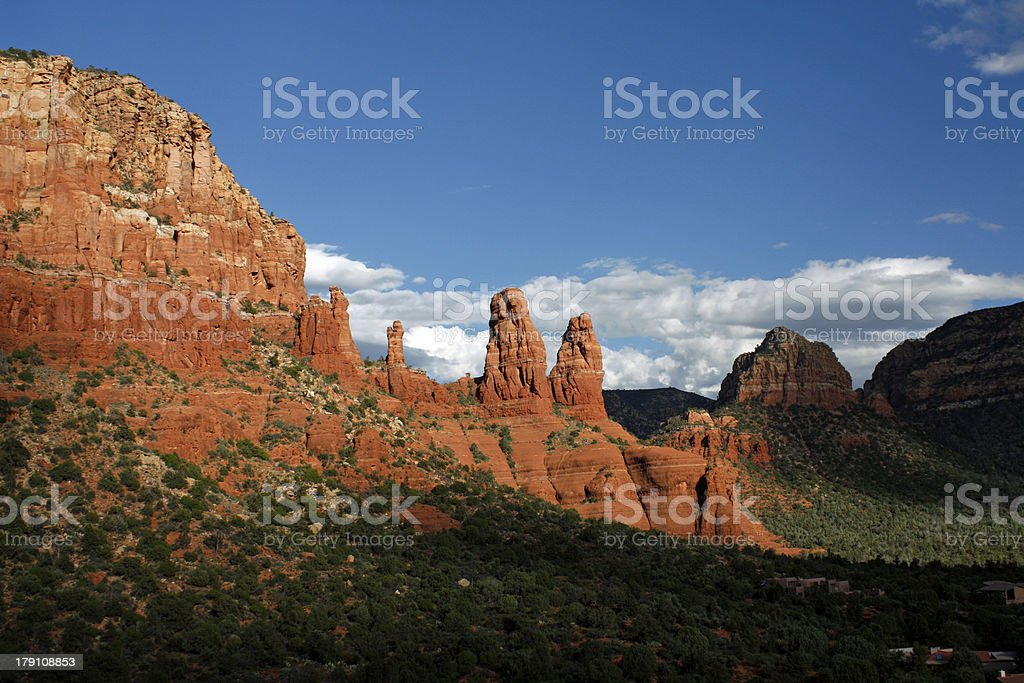 Arizona Desert Mystical Sedona Red Rocks royalty-free stock photo