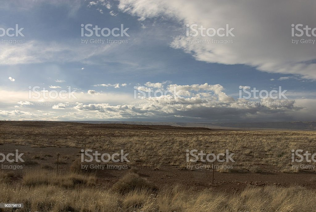 Arizona Desert Sky royalty-free stock photo