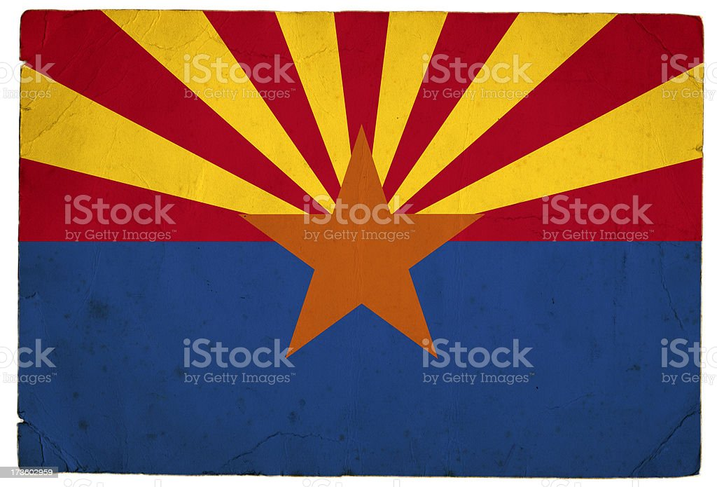 Arizona flag royalty-free stock photo