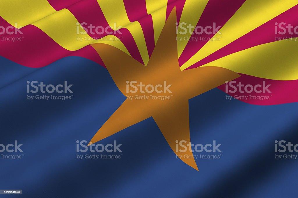 Arizona Flag royalty-free stock photo