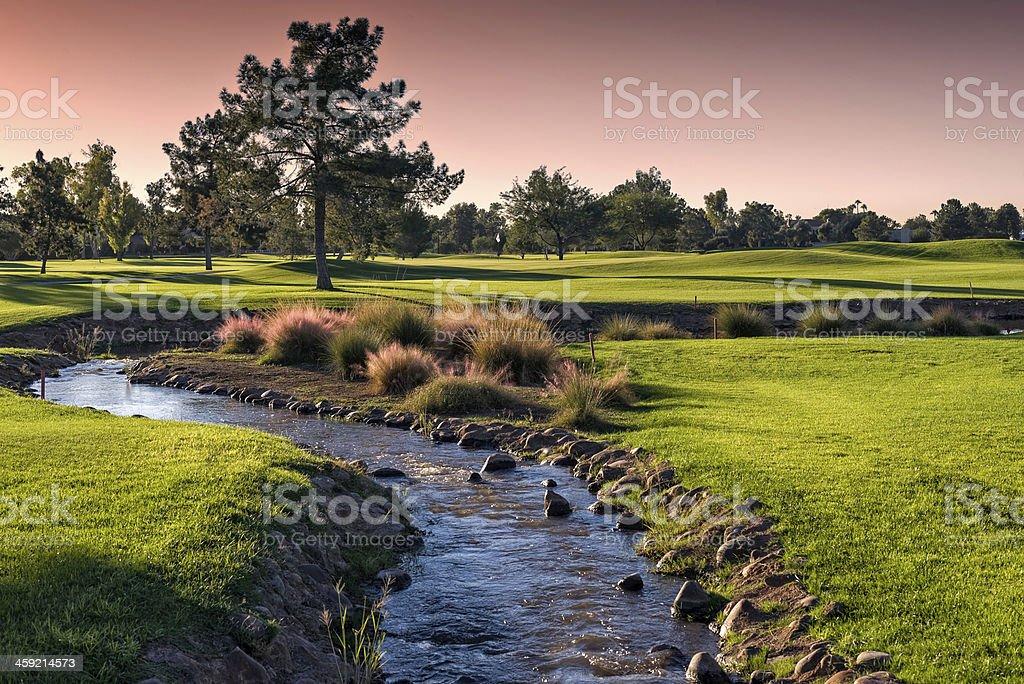 Arizona Golf stock photo