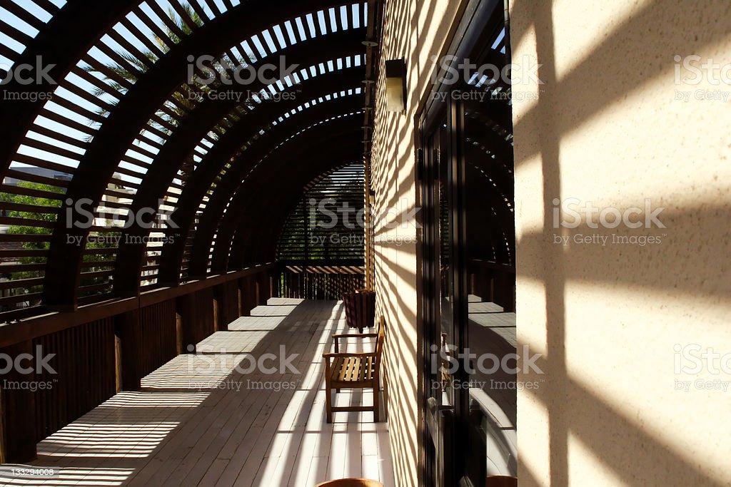 Arizona green house royalty-free stock photo