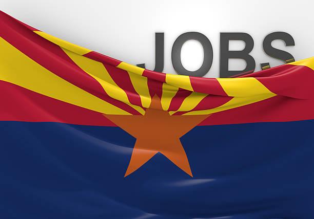 Arizona de emprego e oportunidades de emprego conceito - foto de acervo