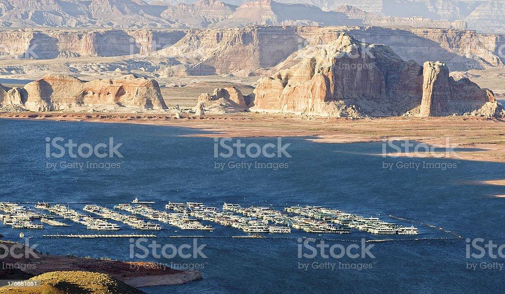 Arizona. Lago Powell. foto de stock libre de derechos