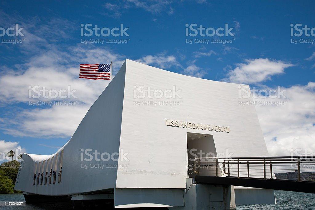 Arizona Memorial royalty-free stock photo