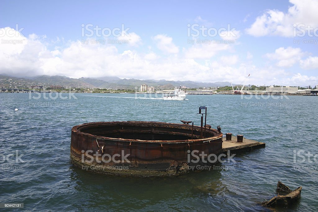 Arizona Memorial royalty-free stock photo