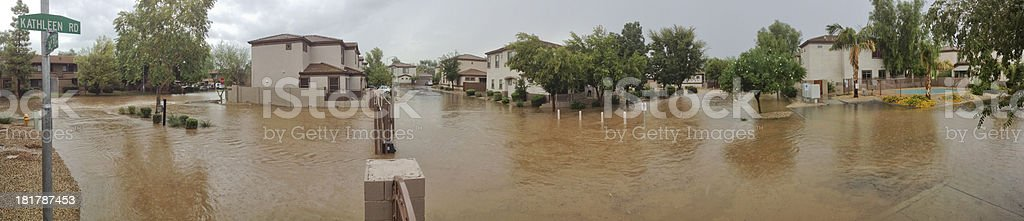 Arizona Monsoon Season in Phoenix royalty-free stock photo
