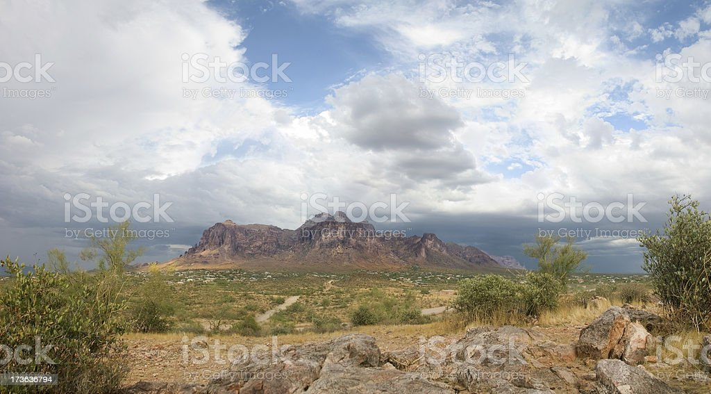 Arizona Mountain Panorama royalty-free stock photo