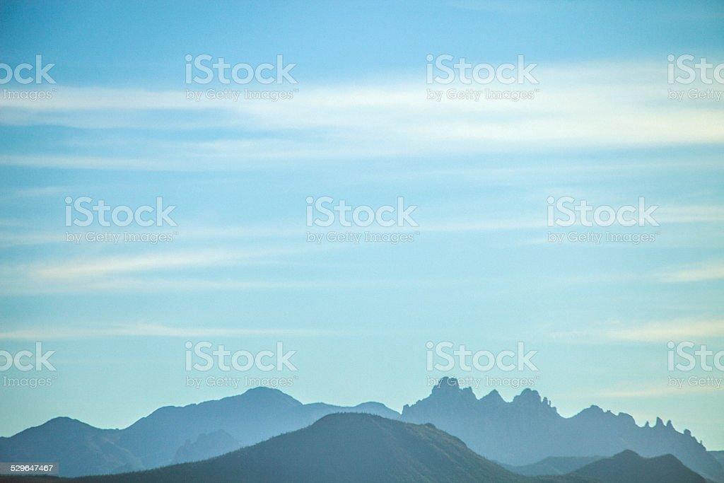 Arizona mountains. stock photo