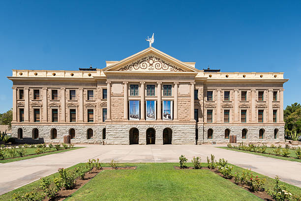Arizona State Capitol stock photo
