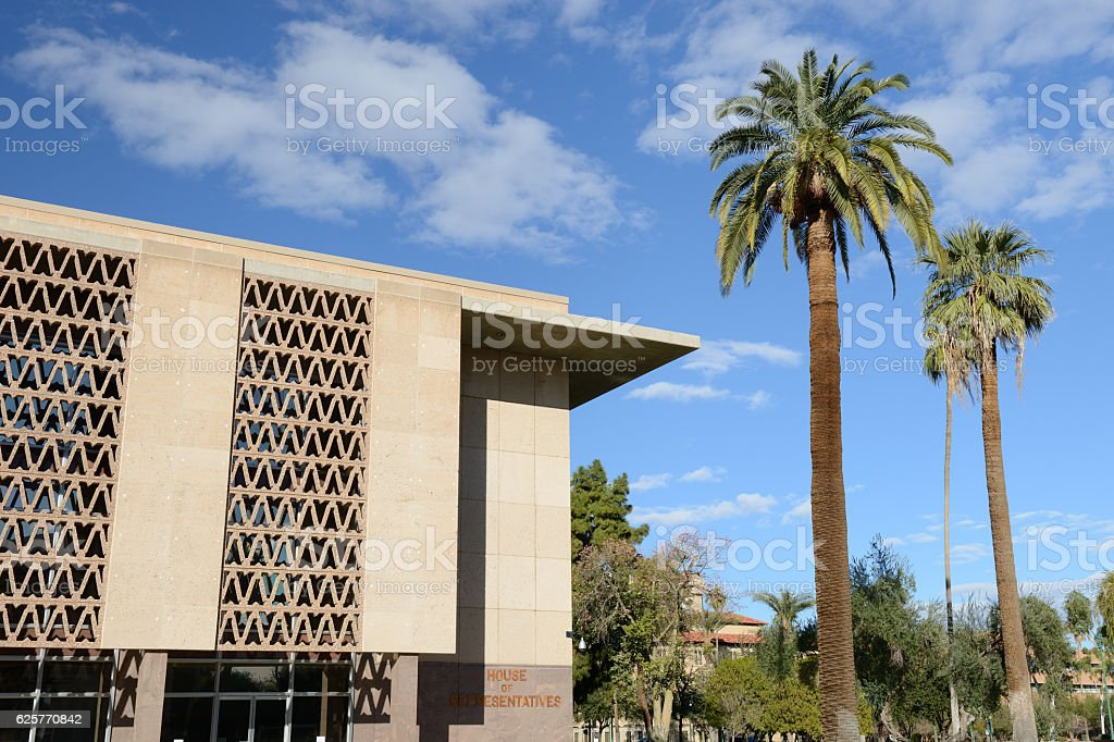 Arizona State Representatives >> Arizona State House Of Representatives Building Stock Photo