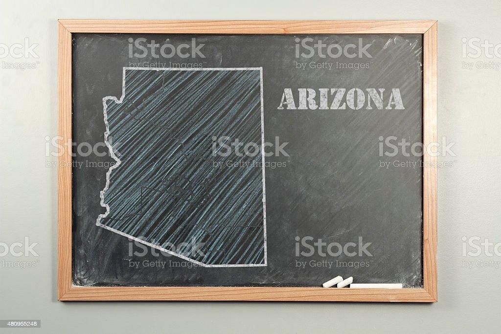 Arizona State stock photo