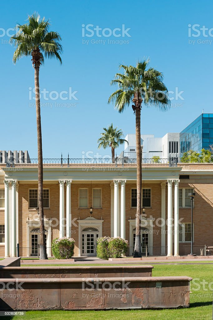 Arizona State University stock photo