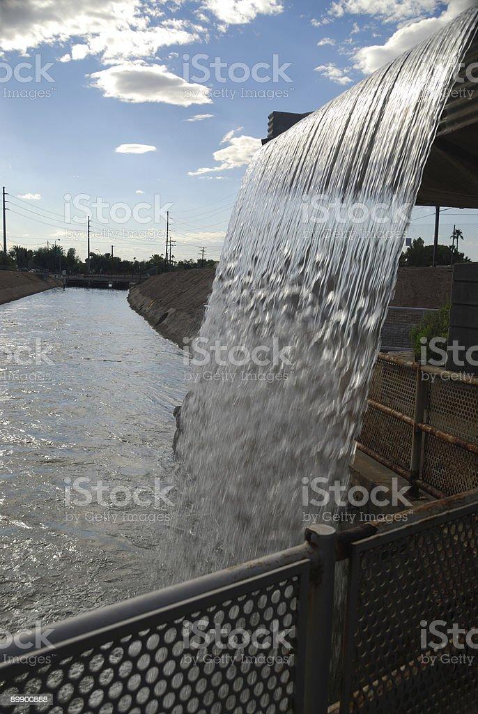 Arizona Waterfall royalty-free stock photo
