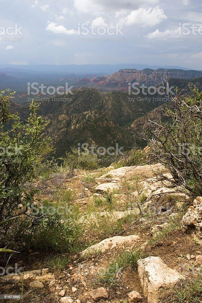 Arizona Wilderness Overlook royalty-free stock photo