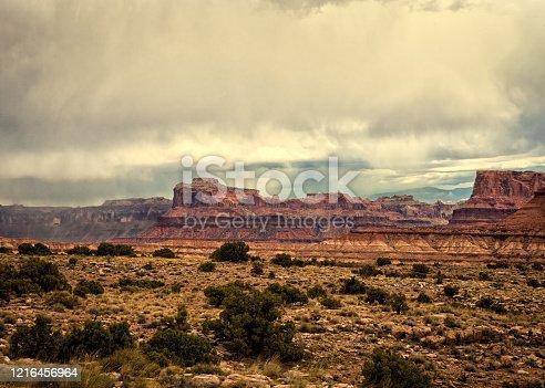 A beautiful landscape of Arizona