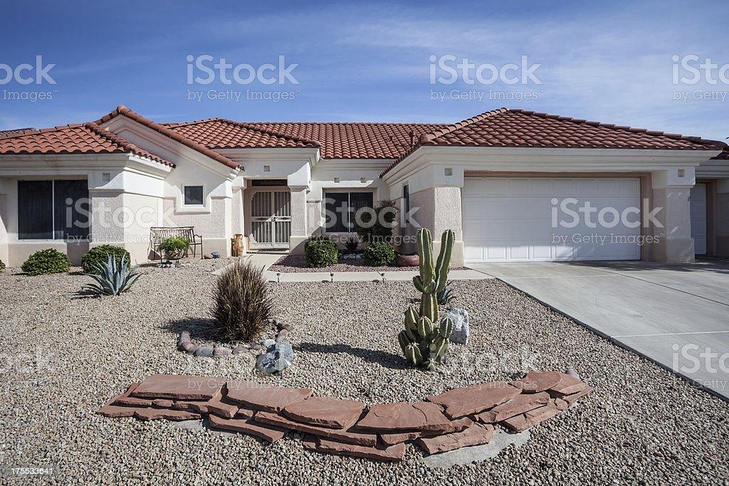 Arizona-style design de maison commune pour la région - Photo