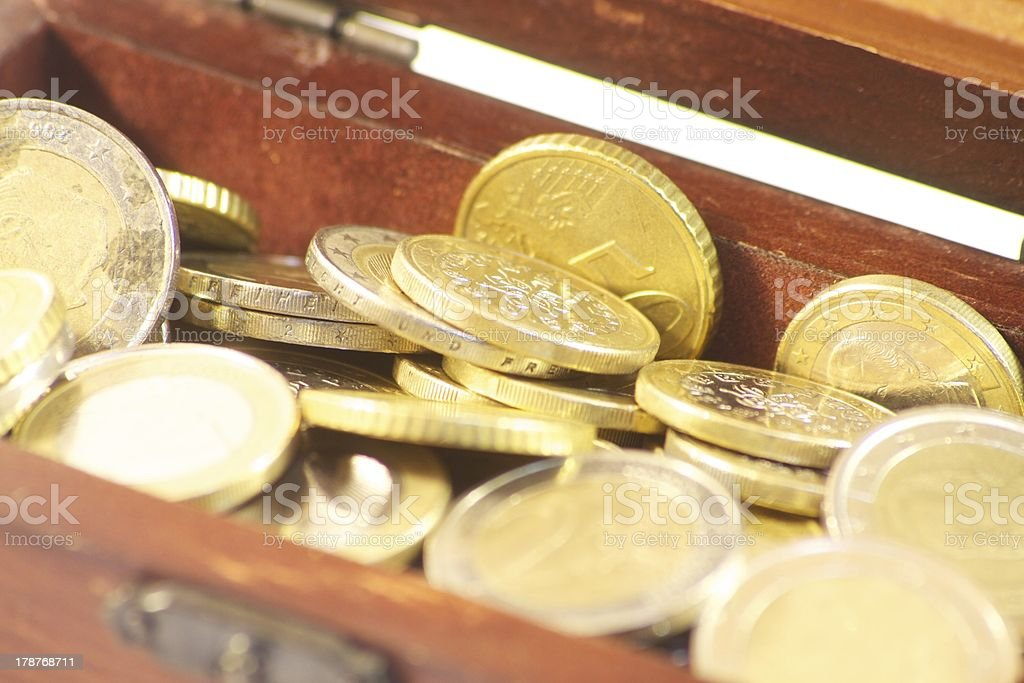 ark with coins royalty-free stock photo