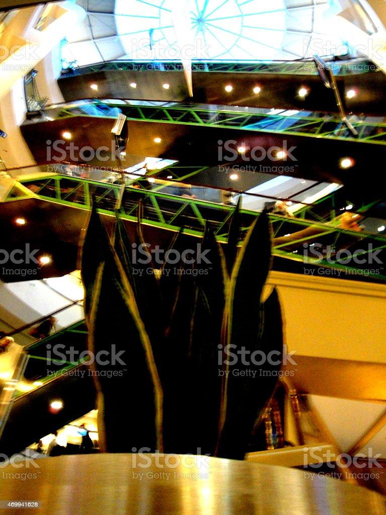 Arkadia - Mall in Warsaw stock photo