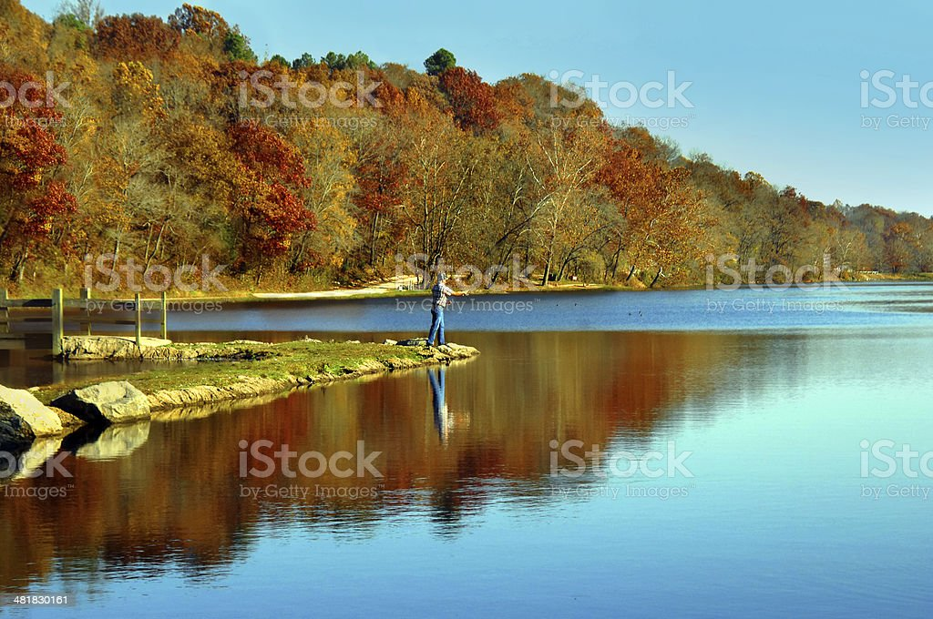 Arkansas Fishing stock photo