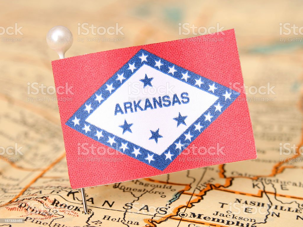Arkansas stock photo