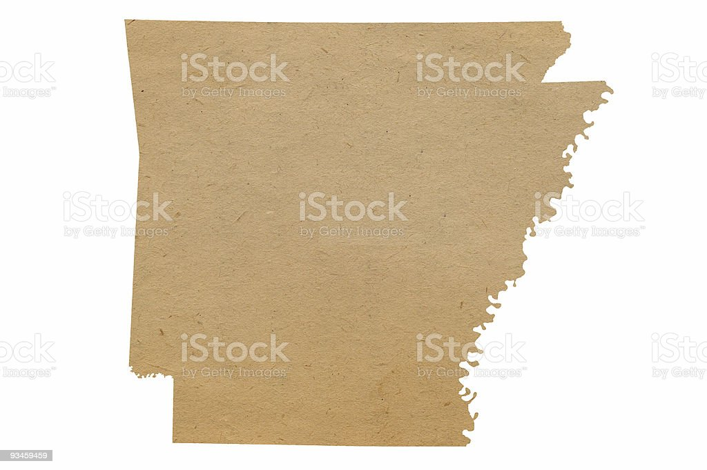 Arkansas Recycles stock photo