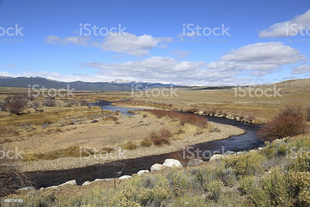 Arkansas River stock photo