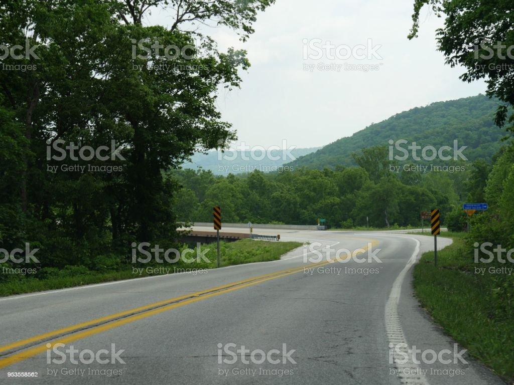 Arkansas Roads Stock Photo - Download Image Now - iStock