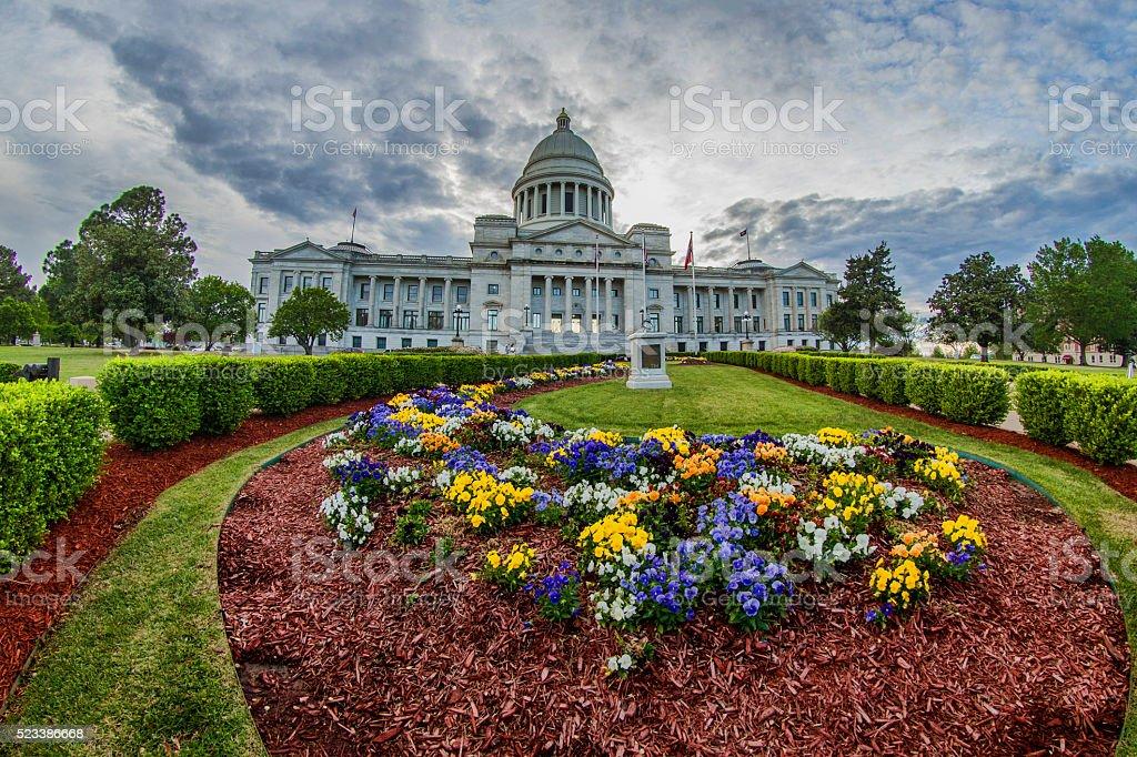 Arkansas State Capitol Building stock photo