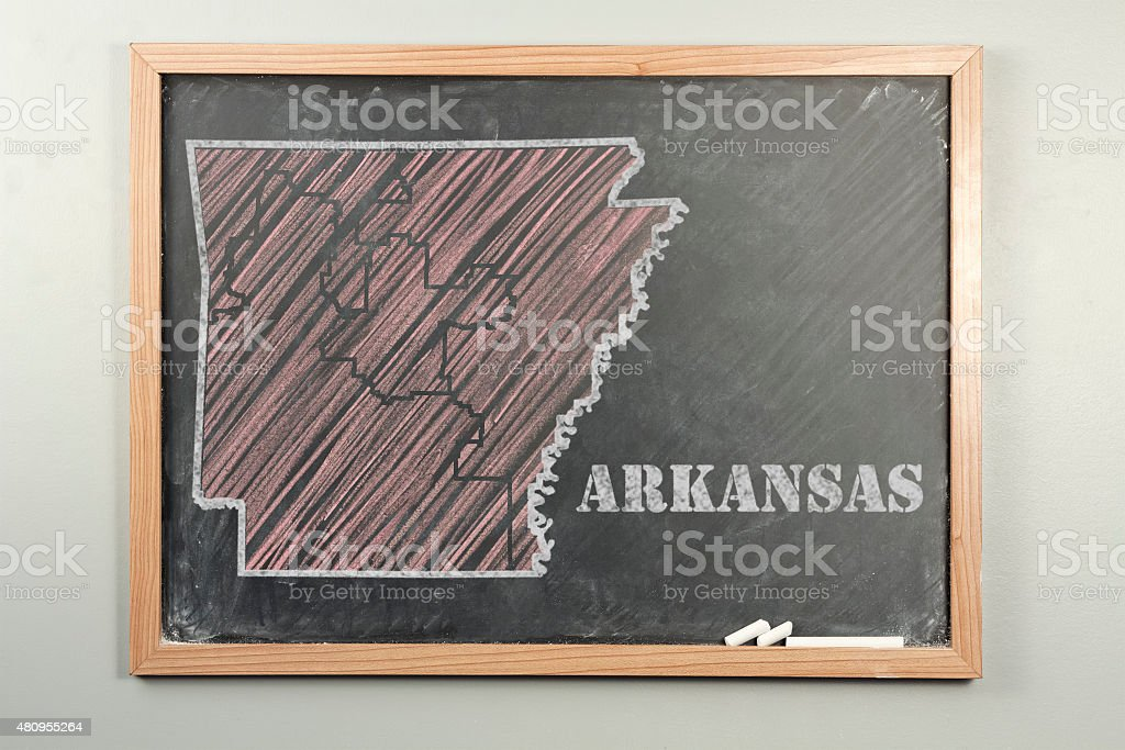 Arkansas State stock photo