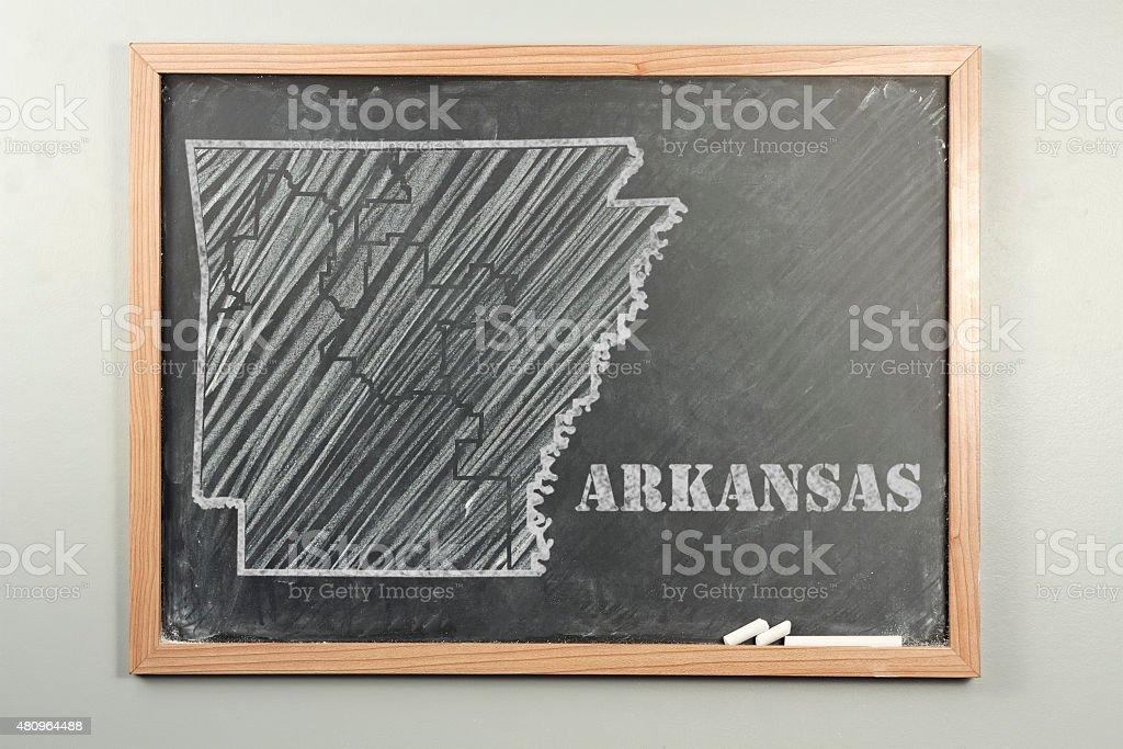 Arkansas State stock photo