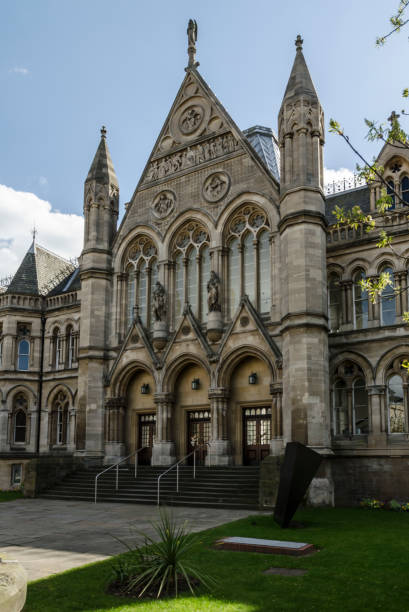 Arkwright Building, Nottingham stock photo