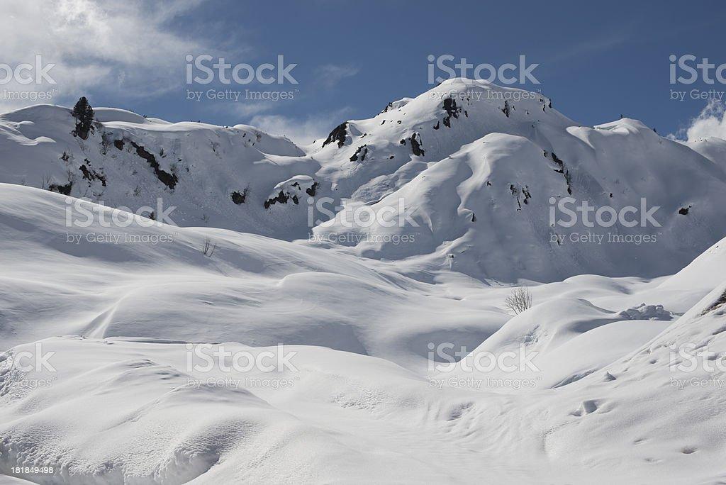 Arlberg Ski royalty-free stock photo