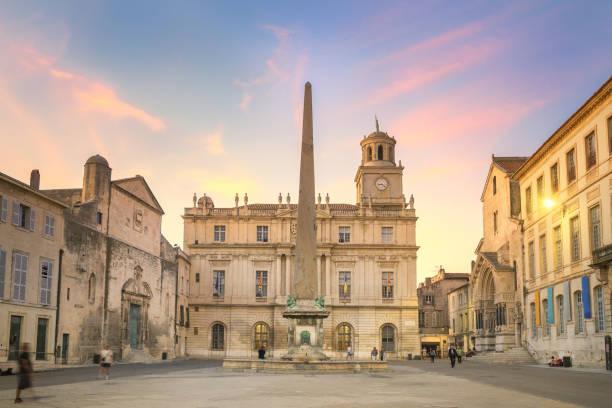 Arles, France stock photo